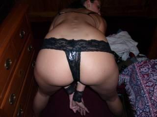 ex wife bent over