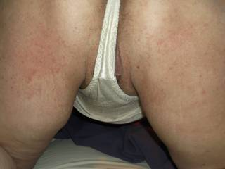 I'm with you sexy white silky satin or nylon on your fantastic body what a turn on thanks Dan