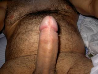 Mmmmm beautiful uncut cock and furry body too?? mmm i wish u were mine!