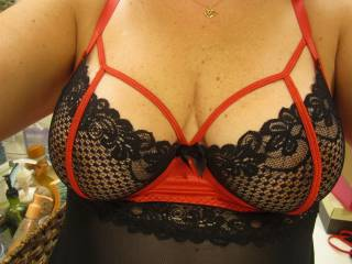 Wifey showing me her new lingerie