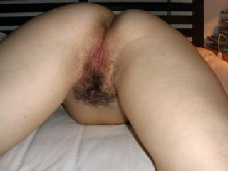 Swetheart my cock gets hard looking at your hot pussy.