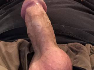 Just another one of me feeling a bit aroused. Wish I had a friend to help relieve some of this tension😉
