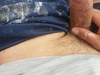 Just horny in car