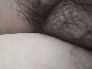 Any comments on my hairy pussy?