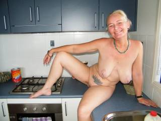 I LOVE your Full Breast and Large Aerola's. I would give anything to be able to Kiss, Lick and Suck on them. And I am not Bashful and would be willing to kneel between your Open Thighs and give you ORAL SEX and have you CLIMAX in my Mouth several times.  Love and Kisses, Maryann