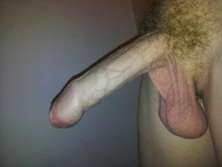 That is nice I would love to roll your foreskin back with my lips then suck all your sperm out of your very full balls