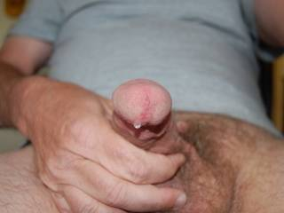 i'd like to suck the precum off your cock