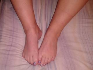 id stroke them of til they cum all over your sexy feet