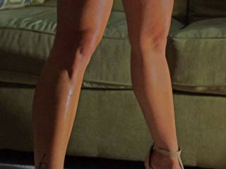 Fabulous legs  love to see a closer shot of the foot tattoo Please