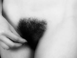 Very sexy...  love to shave it one time, run my tongue all over it so you can feel the tingles everywhere around it, then lick and suck on it till you beg me to stop...