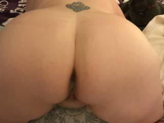 The cum still dripping out of my wife\'s ass