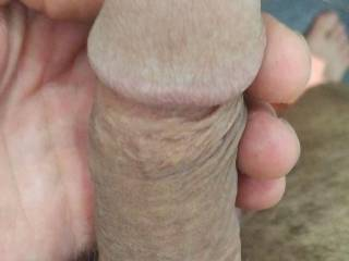 Just a dick in the hand