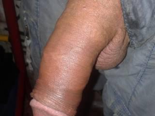 brown penis flaccid
