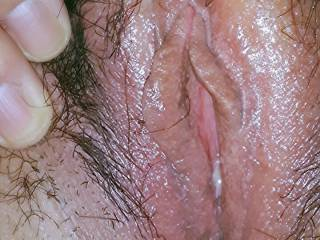 Willl my big fat throbbing veiny cock fit in that tight sweet slippery hole Hun? Xxxx