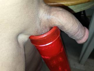 Would you like for me to slip that hard cock into my hot pussy or my wet mouth?  I'll get you off either way.  MILF K