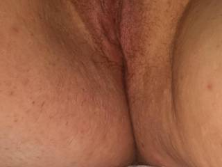 Mmmm, I've got my hard cock in my hand right now wishing I could taste you then fuck you. Would hubby watch or join?