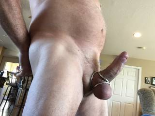Wonderful! Your cock looks like it wants to be buried in some juicy hot snatch xx