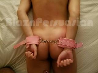 I love being handcuffed. My pussy gets so wet anticipating when bae is about to slide that BBC inside me. He loves my juicy ass.