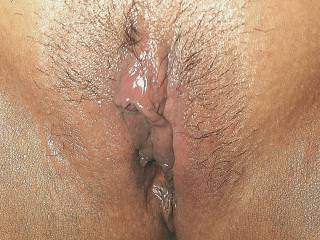 So leaking wet after a nice fuck...