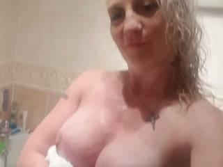 Would you like to plant your cock between my breasts??