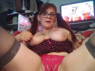 Wife teasing me wanting me to fuck her