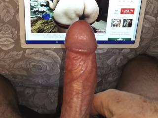 That is so lovely, Luvmaturefun! Fill my holes with that beautiful cock. These are truly the gifts Mrs. Shutterbug58 desires.