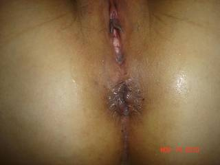 luv to see my cum dripping from ur gaping asshole