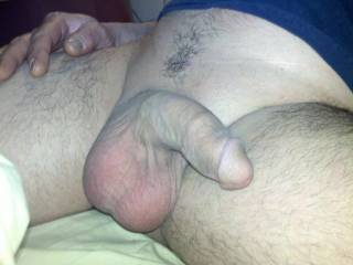 limp nubbed up cock