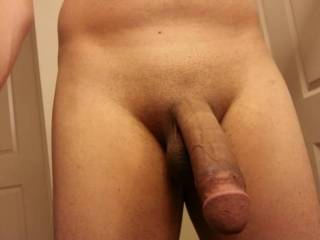 Nice thick cock and a fat head!!! Yummy