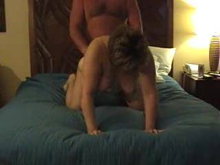 Some video of Tami as she gets fucked doggy in a hotel some nice front tit action if you comment we will post part 2