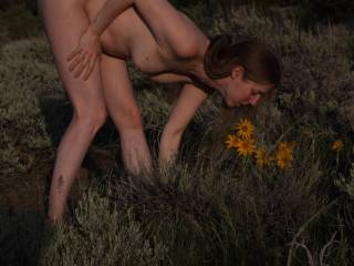 Love being nude in nature. Hell I just love being nude. Anyone else care to walk around naked with me?