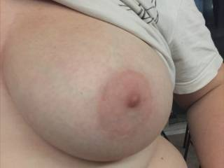 Who would suck on her pink nipples?