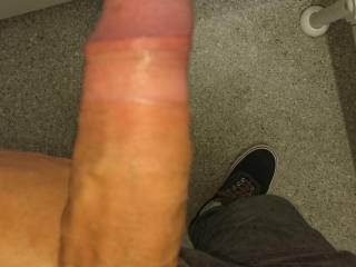 Got hard in a public wc(oops😅)