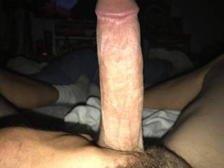 Any ladies wanna double blow this cock? Or ride it while I ride his face, I'll kiss and suckle ur pussy as he pushes up inside u!