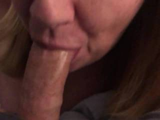 Wife loves cock she cums sucking them