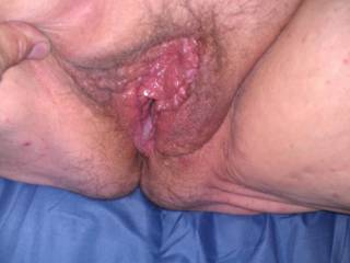 I love cum in my pussy Hubby likes to pull out some to see it shoot But i want it all in me Love that feeling as it throbs and shoots cum deep in my pussy