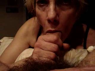 Such a hot video. She is a fantastic cock sucker. Love a blowjob from her.
