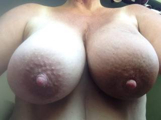 Play? I want to make them mine! Caress, stroke, squeeze, manhandle them... pull, twist, pinch your nipples... lick, kiss, suck and bite on them too!