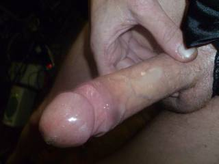 I want to swallow your entire cock....cum and all. That looks so delicious.  MILF K