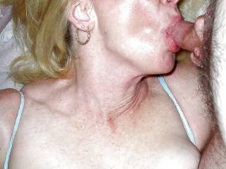 My wife sucking another mans cock