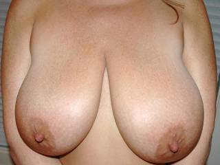 Close up of some Huge Titties