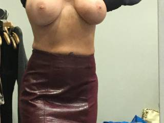 This little slut loves going shopping and rewarding me for fun new clothes!