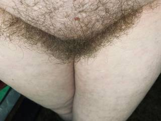 Wife's POV on an incredible hairy pussy