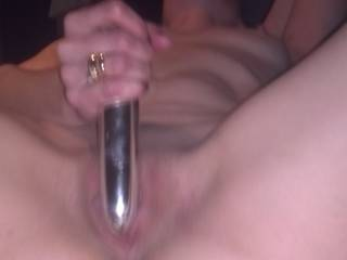 You work your fucking pussy with that toy and I'll work your mouth and throat with my hard fucking cock