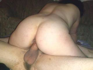 She enjoys the pure fat cock of her fuck buddy in her wet cunt.