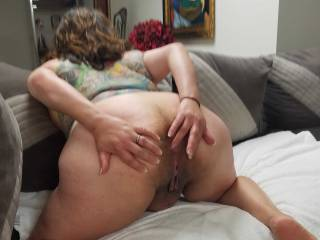 Wifet talking dirty to husband while getting shared