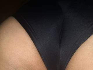 My butts in black panties.. I Ask my hubby to film me while I get a huge bbc.. I am looking for the best.. Muscular.. Fit and with a reasonable thick cock