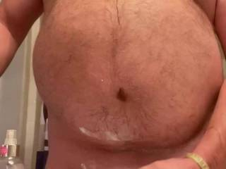 So horny I had to cum after my shave