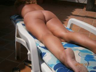 Great ass! Can you spread your legs a little so I can lick your delicious pussy for a few hours?