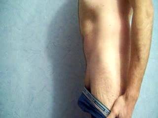 Love the way that cock came flying out of your shorts and you rubbing on it to get it aroused. Sexy!